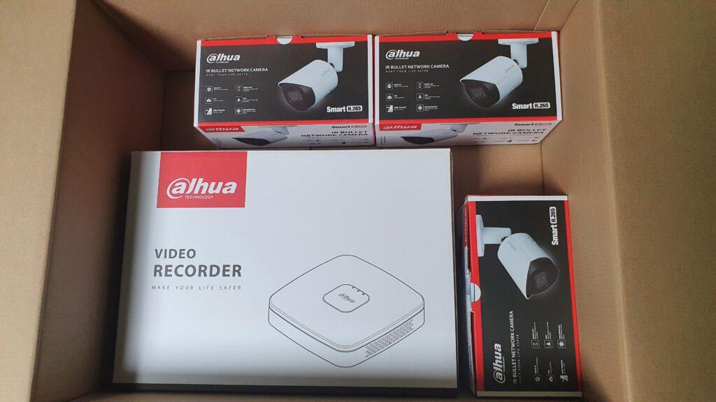 Dahua NVR set
